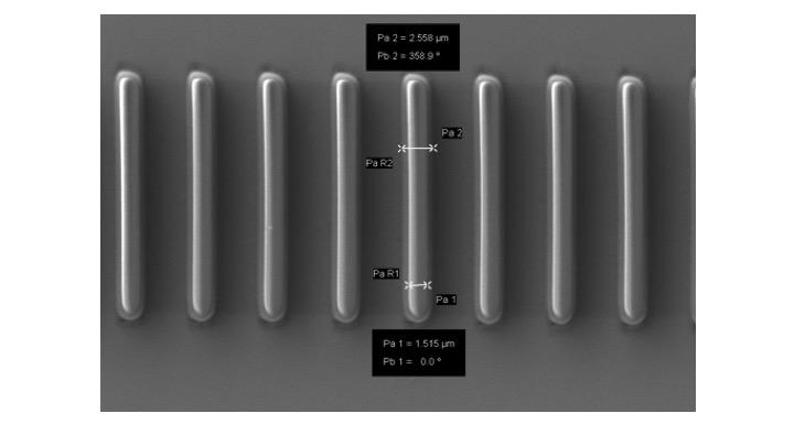 Laserwiter channels