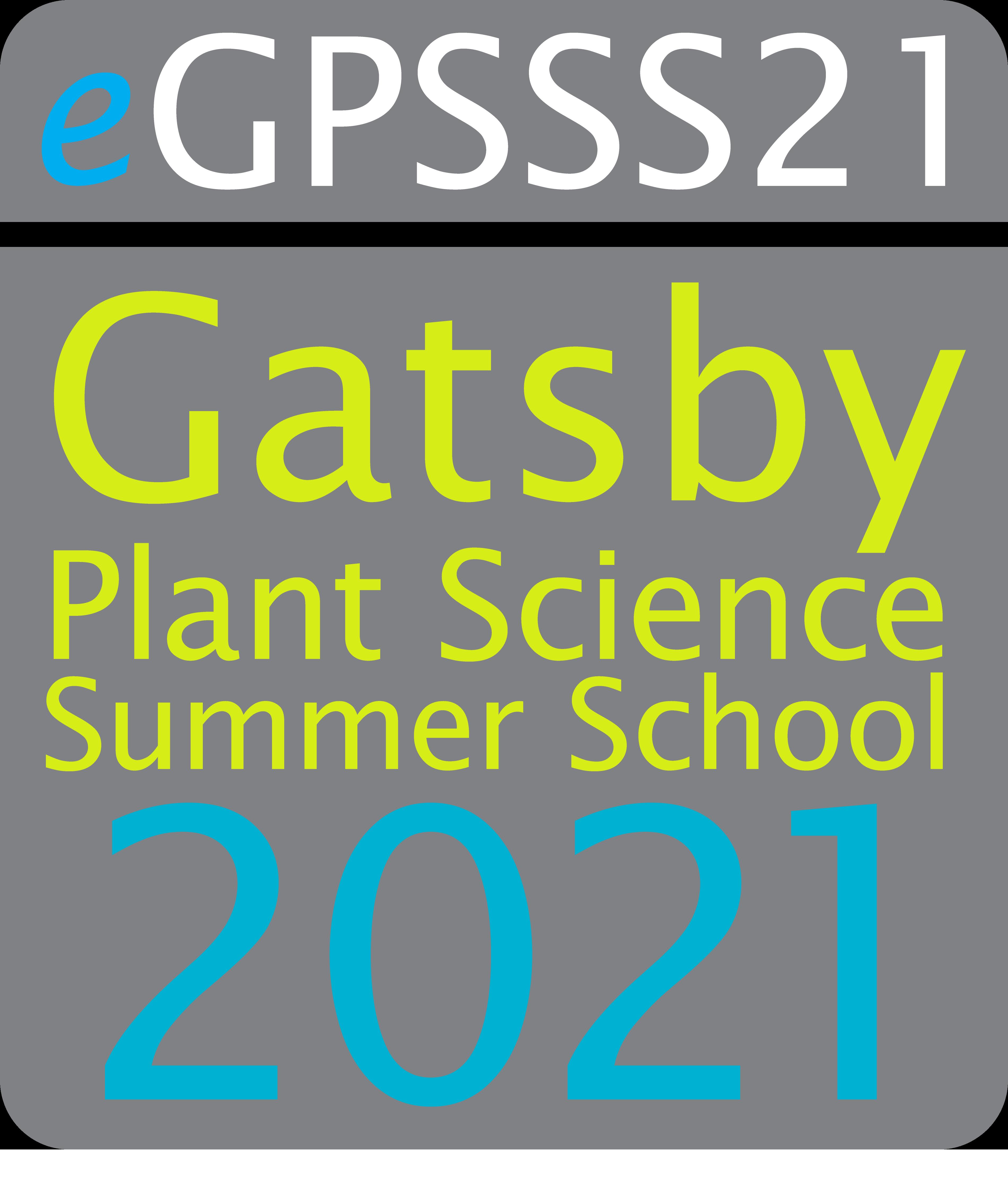 Gatsby Plant Science Summer School 2021 logo